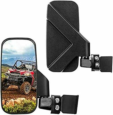 "UTV Side Mirror for 1.75"" 2"" Clamp Polaris Ranger RZR 800 900 1000 Turbo CAN-AM"