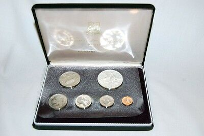 1973 First Coinage of the British Virgin Islands Proof Set Franklin Mint w/ COA