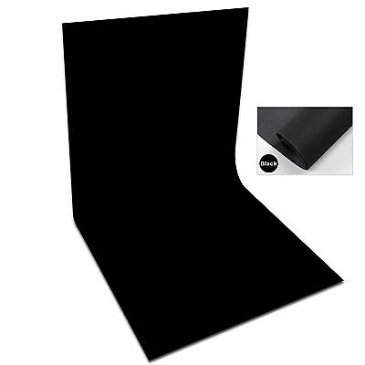 NEW 1.6x2M Photography Studio Black Non Woven Fabric Backdrop Background Screen
