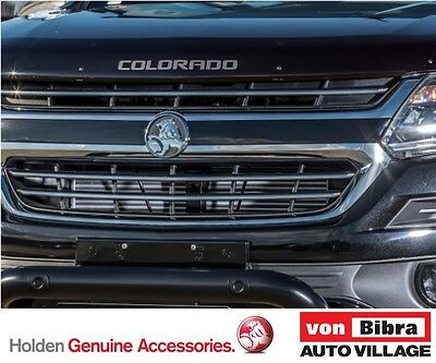 Brand New Genuine Holden RG Colorado Smoked Bonnet Protector FREE POST