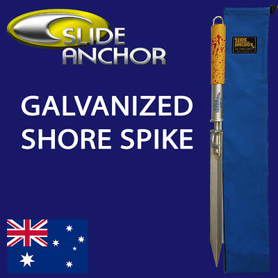Slide Anchor Shore Spike Small Suits Boats to 22 Feet Stroage Bag Included