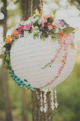"""8"""" 10"""" 13"""" 16"""" 18"""" 21"""" Paper Lantern Balloon Floral for Wedding Party Decoration"""