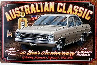 Hr Holden Australian Classic.50Years Anniversary 1966- 2016 Golden Fleece Garage