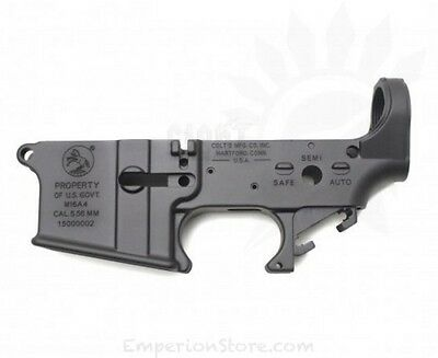 FCC M16A4 Colt Styled Aluminium Lower Receiver Anodized + Cerakote PTW Systema