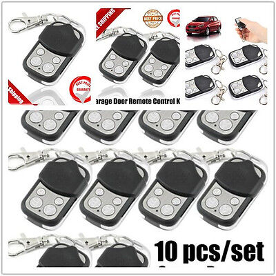 10PCS Garage Door Cloning Remote Control Key Fob 433mhz Gate security OP