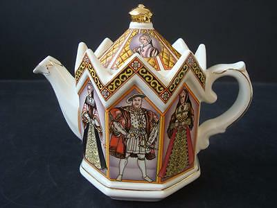 Sadler Teapot Henry Viii And His Six Wives