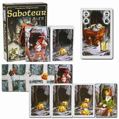 Saboteur Classic Card Board Game Adult Kids Party Funny Play Toy