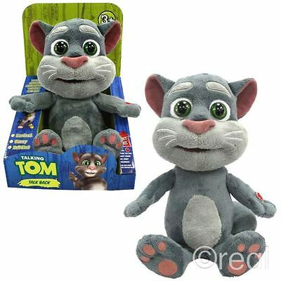 New Talk Back Tom Talking Friends Soft Plush Toy Official