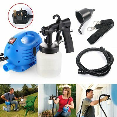 Electric Paint Sprayer Fence Wood Wall Spray Zoom Gun Painting Indoor Outdoor
