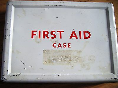 vintage first aid box offices shops railway premises act 1963