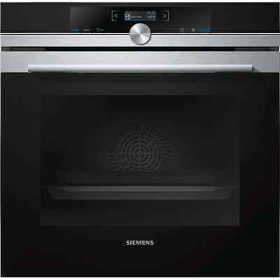 SIEMENS HB632GCS1S Built-in oven Black/Stainless steel, Electronic,
