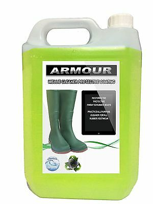 ARMOUR Rubber Boot Cleaner 5L Wellies , Wellington, Footwear