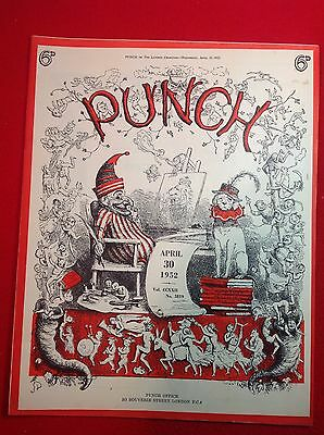 Vintage : PUNCH Magazine : 30th April 1952