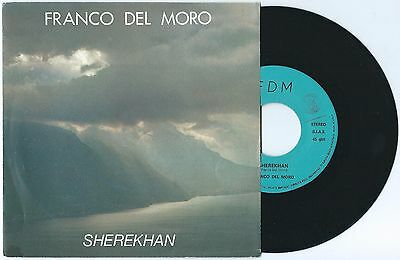 "7"" FRANCO DEL MORO Sherekhan (private 86) Italo space disco electro synth NM!"