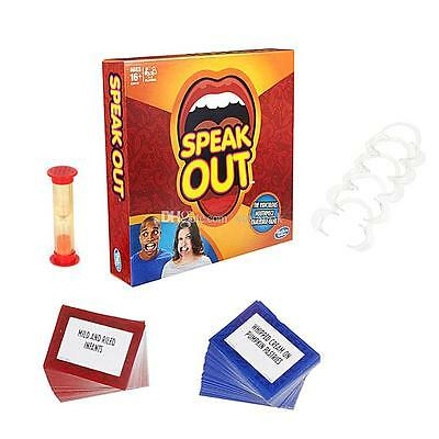 Brand New SPEAK OUT Board Party Game UK Stock  Hurry Now
