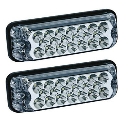 Ecco/Vision Alert 3800 Series Pair Of 3811A 12/24 Volt LED Strobes/Lightheads