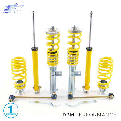 FK AK STREET COILOVER SUSPENSION KIT - BMW 3 Series E46 (1998-2005) - SMBM9001