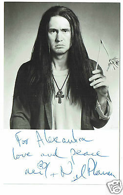Nigel Planer British Actor The Young Ones Hand Signed Vintage Photograph 5 x 3