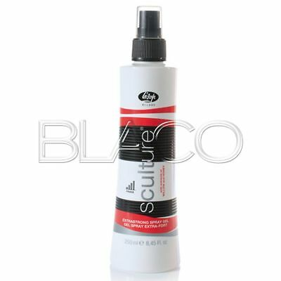 Lisap Sculture Extrastrong Spray Gel - 250Ml Per Capelli