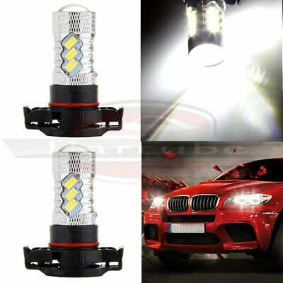 H16 5202 6000LM 6000K Cree LED 15 SMD Fog Driving Light 60W Bulbs Lamps US Fast