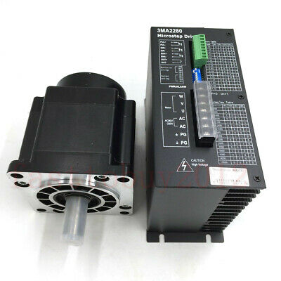 8Nm NEMA42 Stepper Motor Drive Kit Control System 3Phase 4.3A  for CNC Machining