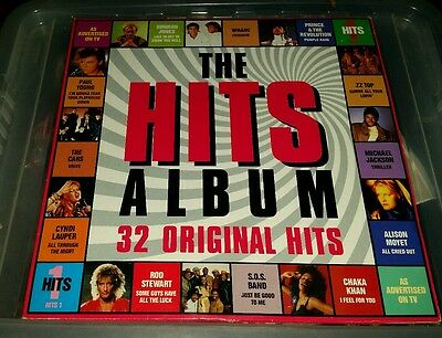 Hits 1 Pop Compilation Vinyl LP 1980s Music HITS 1 Various Artists