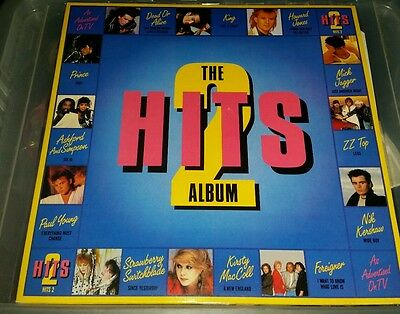 Hits 2 Pop Compilation Vinyl LP 1980s Music HITS 2 Various Artists