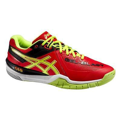 ASICS Gel Blast 6 Red Netball Squash Badminton Indoor Court Shoe Trainer