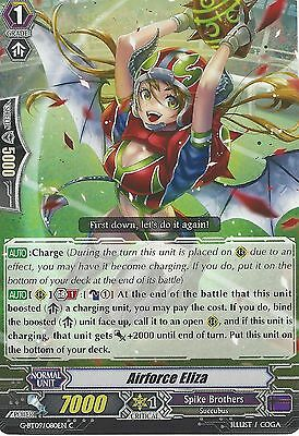 4X Cardfight Vanguard Card: Airforce Eliza - G-Bt09/080En C