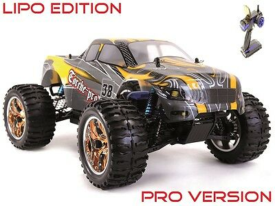 HSP AMEWI Monstertruck Torche Pro M 1:10 2,4 GHz Brushless LIPO Edition