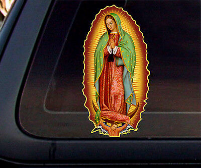 Virgin Mary Full Color Car Decal/Sticker