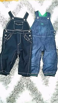 Baby Boy Orchestra & Baby Gap Jeans Overalls 12 - 18 Months