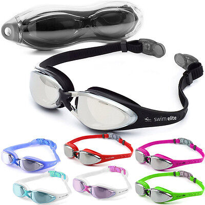Swim Elite Swimming Goggles - UV and Anti Fog Protection For Adults and Juniors
