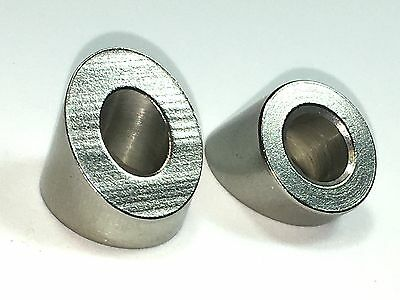 316 Stainless Steel 32 Degree Angled Beveled Washer For 1/4 (Qty 10 )