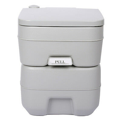 07S8 5 Gallon 20L Portable WC Toilet Flush Camping Porta Travel Outdoor Hiking