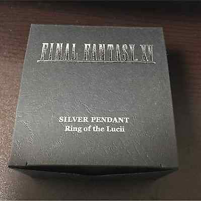 NEW FINAL FANTASY XV Silver Pendant RING OF THE LUCII Square Enix JAPAN Official