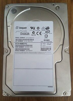 146GB 10K FCAL FC Fibre Channel Hard Disk Drive HDD