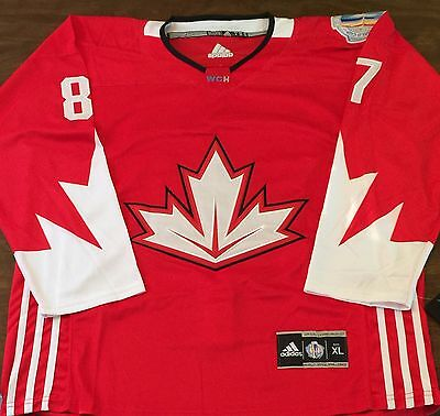 Team Canada Sidney Crosby Hockey Jersey World Cup XL CLEAROUT SALE!!!