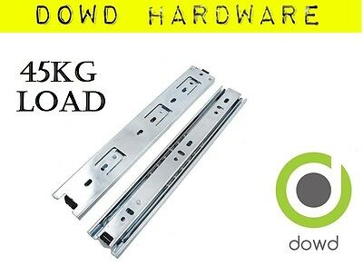 Drawer Slides 250 300 350 400 450 500 Runners 45kg 4x4 Camper Full Extension