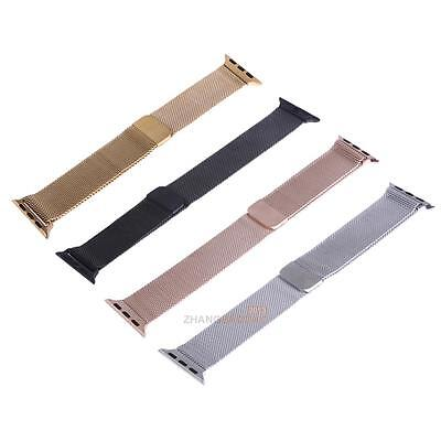 38mm Milanese Loop Stainless Steel Bracelet Band Strap for Apple Watch Sports