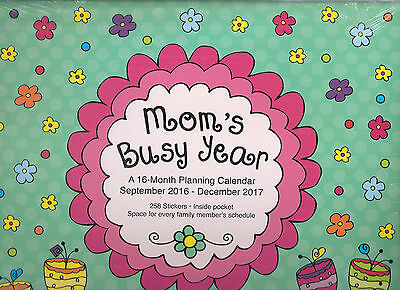2017 MOMs BUSY YEAR WALL 12X12 FAMILY Appointment Large PROTECTED Avalon STICKER