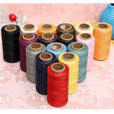 150D 1MM 260m Leather Sewing Waxed Thread For Chisel Upholstery Shoes Luggage