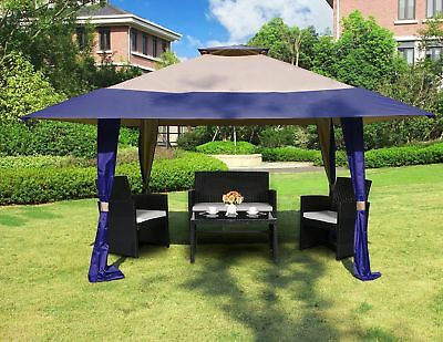 13u0027 x 13u0027 Outdoor Waterproof Canopy Gazebo Garden Patio Wedding Party Deck Tent & 13u0027 X 13u0027 Outdoor Waterproof Canopy Gazebo Garden Patio Wedding ...