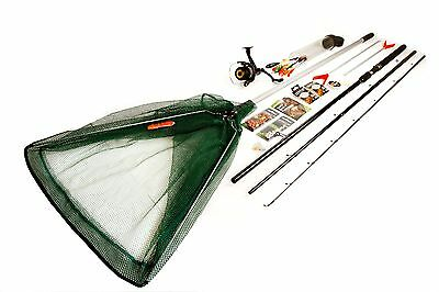 Matt Hayes Coarse Fishing Kit with Net, Rods & Accessories -From Argos on ebay