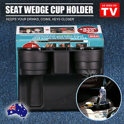 Car Cleanse Drink Seat Wedge Cup Holder Valet Travel Coffee Bottle Table Stand