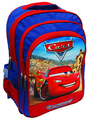 New Large Kids Backpack School Bag Preschool Disney Cars Boys Gift