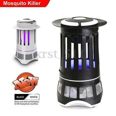 Electric UV Mosquito Bug Zapper Fly Insects Pest Killer Catcher Trap Light Lamp