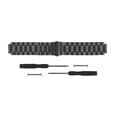 New Stainless Steel Metal Watch Band Wrist Strap For Garmin Vivoactive