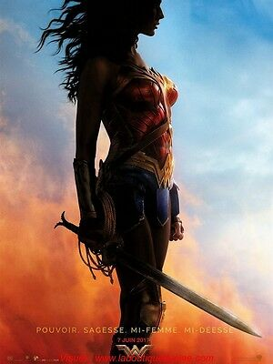 WONDER WOMAN Affiche Cinéma Movie Poster 160x120 Gal Gadot