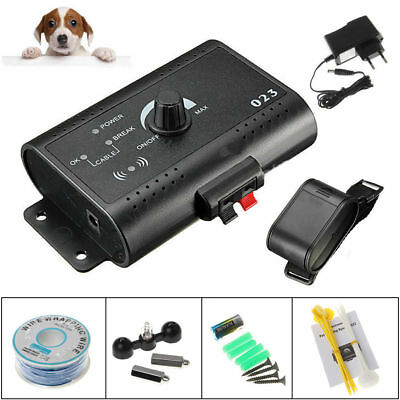 New Underground Electric Dog Fence System Waterproof Shock Collars For Pet Dog